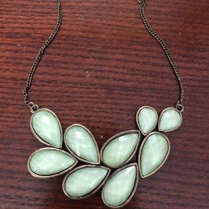 Pretty green necklace